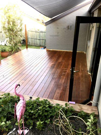 Buderim Hardwood deck